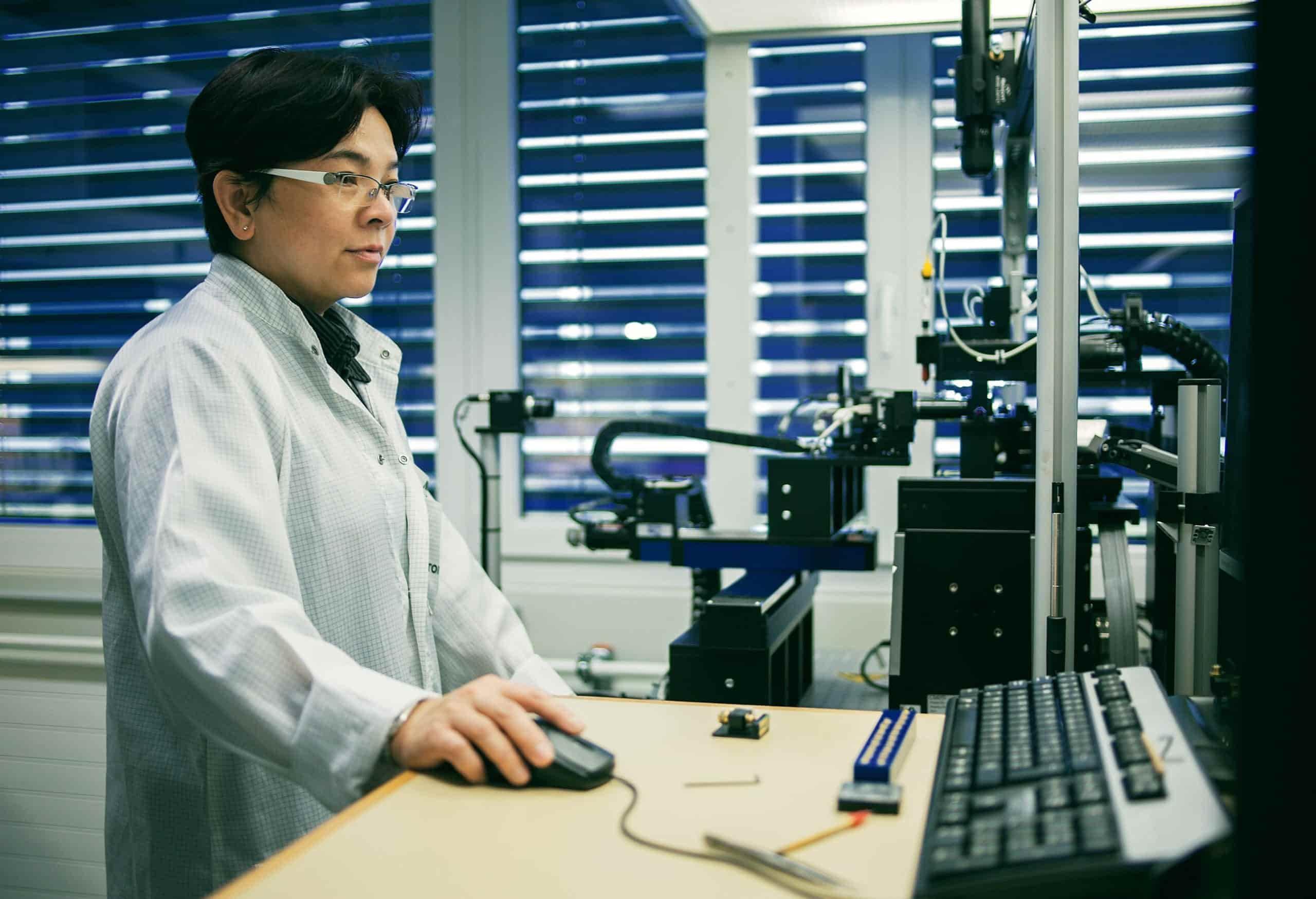 Production and engineering at Safran Vectronix